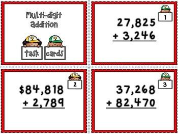Multi-digit Addition
