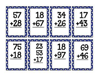 Multi-digit Addition Match Up