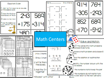 Multi-digit Addition & Subtraction Strategies