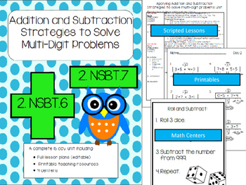 Multi-digit Addition & Subtraction Strategies