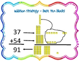 Multi-digit Addition and Subtraction Anchor Charts