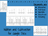 Multi-digit Interactive Addition and Subtraction Documents for Google Docs
