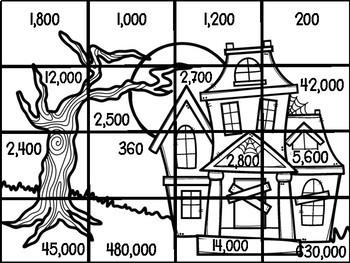 Multi-digit Multiplication Activities