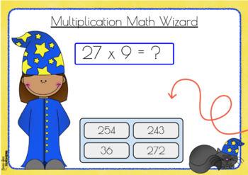 Multi-digit Multiplication - Boom Cards