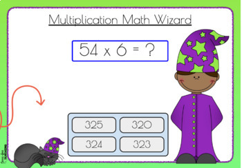 Multi-digit Multiplication - Boom Cards
