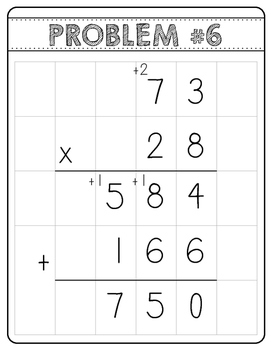 Multi-digit Multiplication Error Analysis