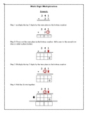 Multi-digit Multiplication Notes and Practice