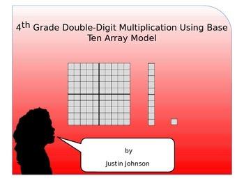 Multi-digit Multiplication Using Base Ten Array Model Anim