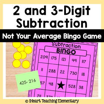 Multi-digit Subtraction- Bingo Blitz