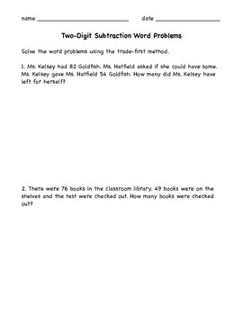 Multi-digit Subtraction Worksheets