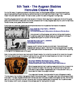 "Multi-paragraph Essay      ""Herculean Tasks"""