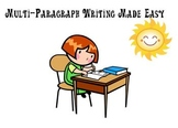 Multi-paragraph Writing Made Easy