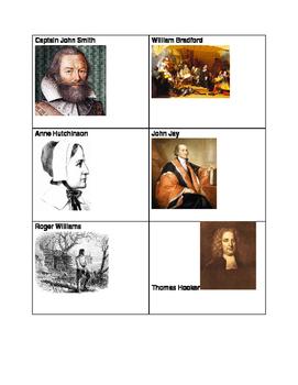 Multi purpose 13 Colonies Manipulatives