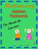 Multi-Sensory Addition flashcards 0-12