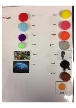 Multi-sensory Animal Description Packet EET inspired