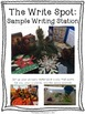 Multi-Sensory Winter Writing Station: The Write Spot (Grades 3-5) Booster