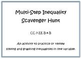 Multi-step Inequality Scavenger Hunt