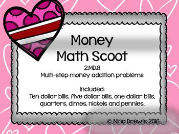 Multi-step Money Addition Scoot