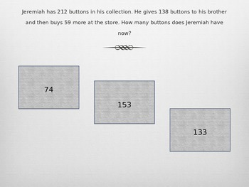 Multi-step Problem Solving 2.OA.1