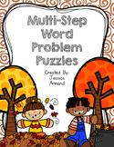 Multi-step Word Problem Puzzles