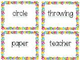 Multi-syllabic Words
