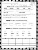 Long E: e, ee, ea, ei, ie, ey, y  Advanced Phonics Multisyllable  Worksheet