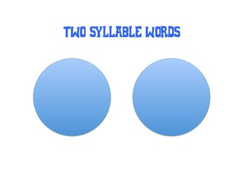 Multi-syllable Word Helper