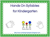 Multi-syllable Words for Kindergarten