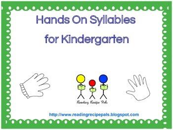Multi-syllable Words for Kindergarten