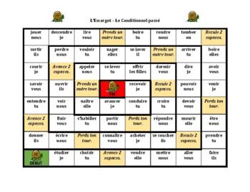 Multi-tense French Verbs Escargot Snail Games