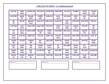 Multi-tense French Verbs Mega Connect 4 Games