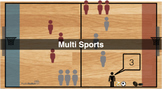MultiSports - PhysEd Activity Pack (including video animation explanation)