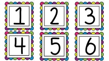 Multicolor Classroom Decor