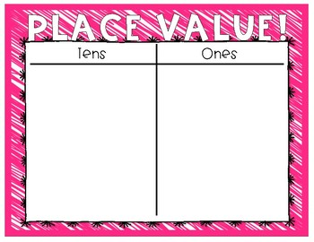 Multicolored Place Value Mats
