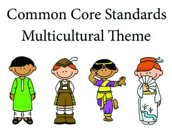 Multicultural 1st grade English Common core standards posters
