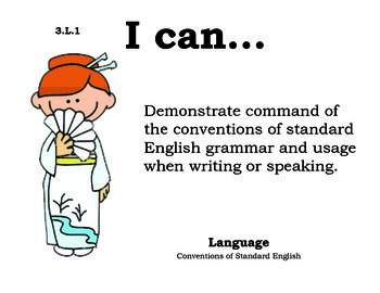 Multicultural 3rd grade English Common core standards posters