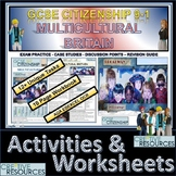 Multicultural Britain Work Booklet of Student Activities and Worksheets