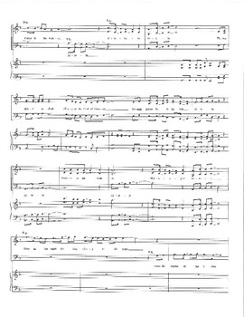 African American Caribbean SATB Upbeat Song for Choir