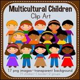 Multicultural Children Clip Art