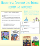 Multicultural Cinderella Project: Diorama and Twitter Feed