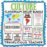 Culture Classroom Decor Bundle