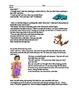 Multicultural Creation & Explanation Myths Reading & Writing Lesson