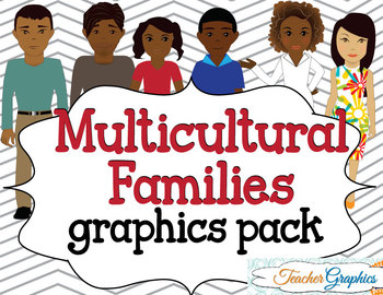 Multicultural Families Graphics Pack
