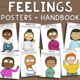 Multicultural Feelings Posters, Emotion Chart & SEL Activi