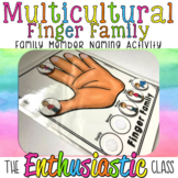 Multicultural Finger Family : Family Member Naming Activity