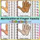 Multicultural Finger Family : Family Member Naming Activity