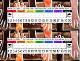 Multicultural Hands Desk Name Tag Plates Set
