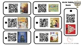 Multicultural Holiday Books QR Code Listening Center