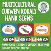 Multicultural Kodaly Solfege Hand Signs