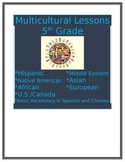 Multicultural Lesson Hispanic Countries